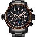 Relogio Masculino 2016 Большой Циферблат Спорт Военные Часы Мужчины Luxury Brand PAGANI DESIGN Погружения Кварцевые Часы Полный Стали Часы Мужчины