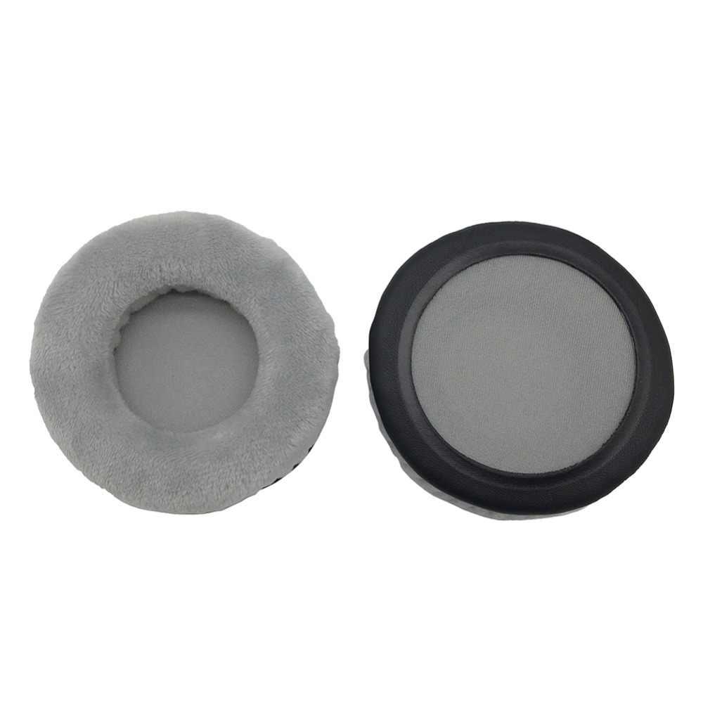 IMTTSTR 1 para aksamitna skóra wkładki do uszu nauszniki nauszniki zamiennik dla JBL Tune 500BT potężny bas bezprzewodowe słuchawki OnEar