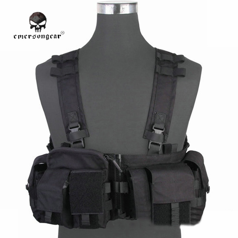 EMERSON MF Style UW Gen V Split Front Chest Rig Vest Airsoft Paintball Combat Gear 500D Molle Military Tactical Army Gear EM7451 chemometrics pattern recognition methods