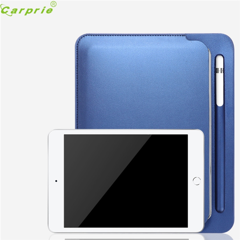 Lower Price with Carprie Tablet Case For Ipad Mini 5 2019 Faux Leather Protective Stand Slim 7.9 Pen Groove Bag Cover For New Ipad Mini 5 Skin Tablet Accessories