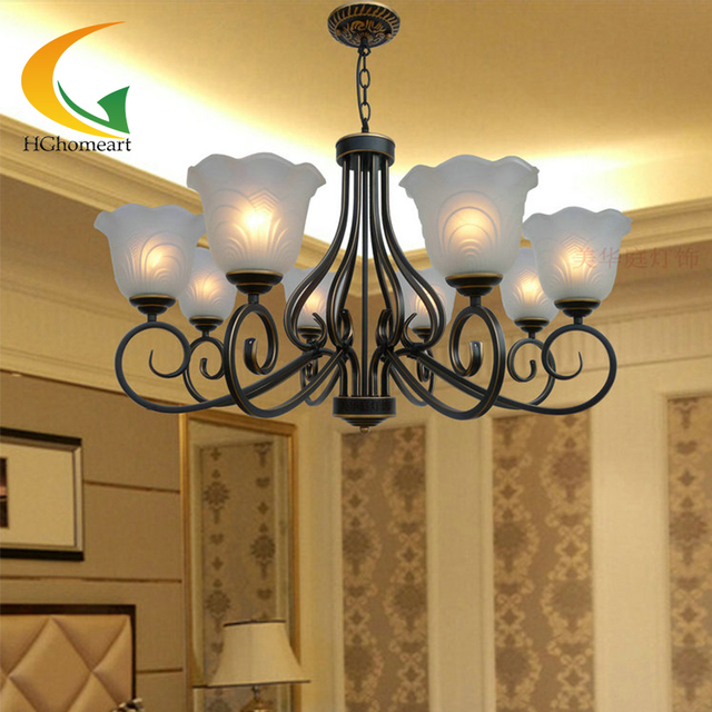 European Chandeliers Living Room Lights Dining Bedroom Penthouse Floor Lamps Modern Chandelier LED Light