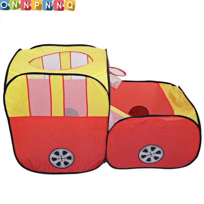 Varnost Car Shape zložljiv šotor za otroke Plastični Toy šotori - Zabava in šport na prostem