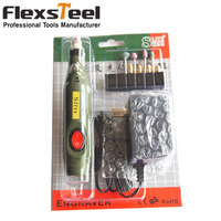 DIY Mini 10W Electric Wood Chisel Electric Engraving Pen Hand Drill Grinding Carving Chisel Tool Flexible