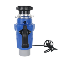 ITOP Electric Kitchen Garbage Disposal Food Waste Processor 380W/500W ABS Plastic