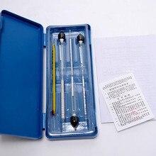3 шт. Ареометр спиртометр тестер(0-40%, 30-70%, 70-) с термометром 0- спирт измерители концентрации