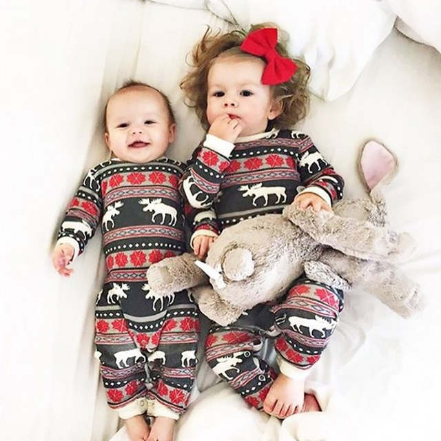 c080f970078d Online Shop Family Matching Clothes 2018 Print Hot Mother Father Boy ...