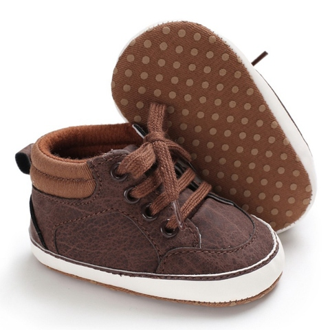 Baby Shoes Classic Sports Sneakers Baby Boys First Walkers Shoes Infant Toddler Soft Sole Anti-slip Baby Boy Shoes 2019 Karachi