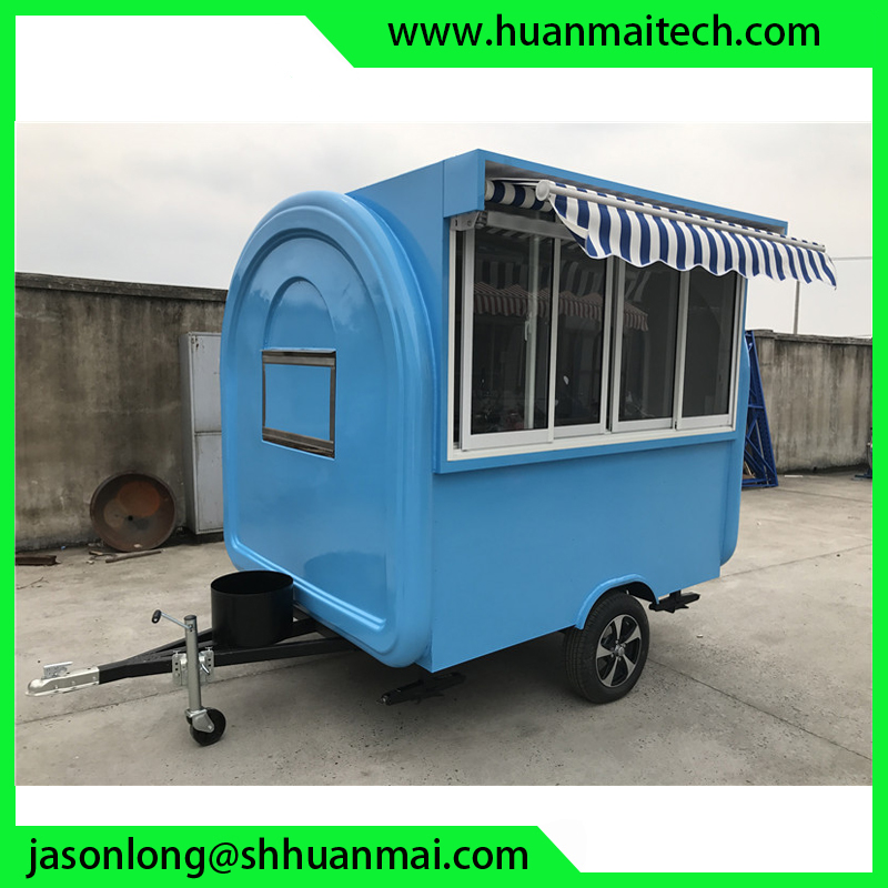 Mobile Food Kiosk Mobile Shop Food Trailer Snack Trailer in Trailer from Automobiles Motorcycles