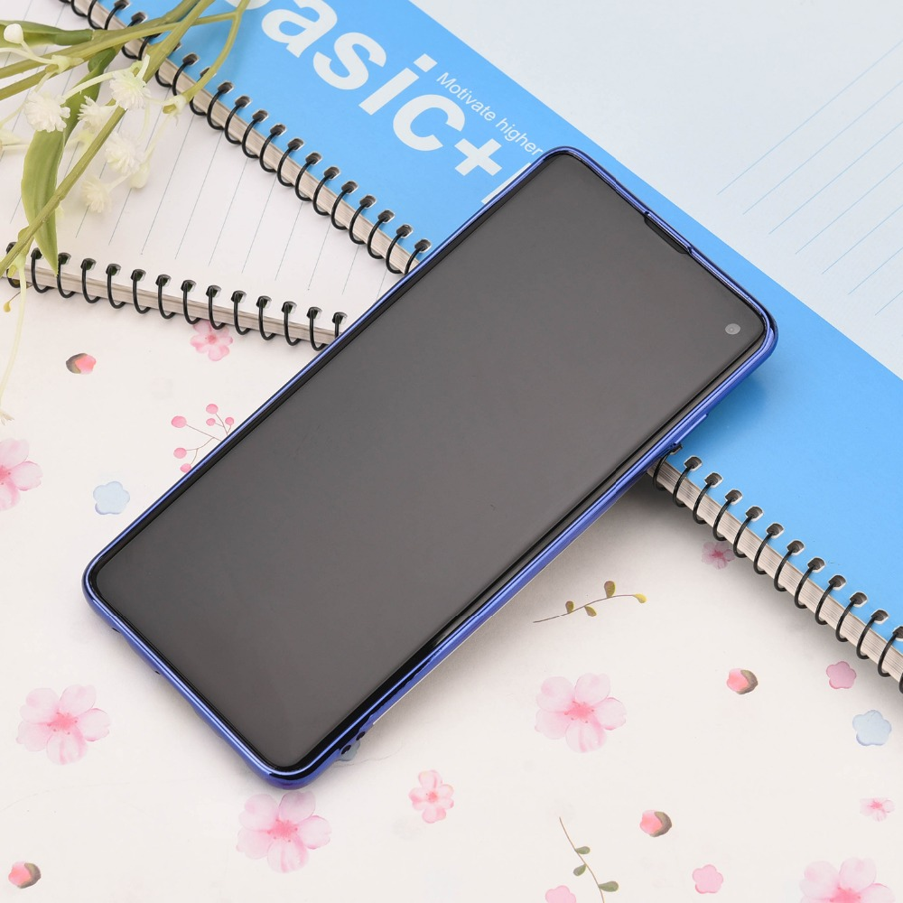 For Samsung Galaxy S8 S9 S10 Plus S10 lite Ultra Thin Transparent Phone Case Car Magnetic Cases Finger Ring Holder Cover Coque in Phone Bumpers from Cellphones Telecommunications