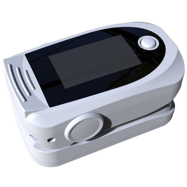 High Quality Finger Tip Pulse Oximeter Blood Oxygen Saturation Monitors With White Colors