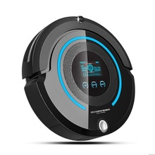 2017 Most Advanced Robot Vacuum Cleaner For Home (Sweep,Vacuum,Mop,Sterilize) With Remote control, LCD touch screen, schedule