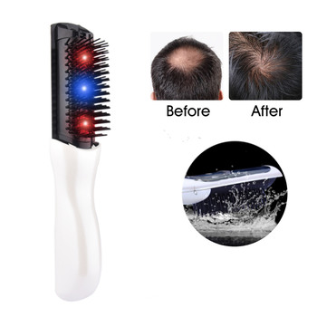Hair Growth Laser Comb Therapy Electric Massage Equipment Stop Hair Loss Treatment Promote Grow Brush Product Men Birthday Gift Beauty Tools