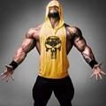 Marca de roupas de Fitness Musculação ZYZZ Tanque Dos Homens Top Desgaste Gorila Ouros Colete Stringer Undershirt Gymshark pro combate