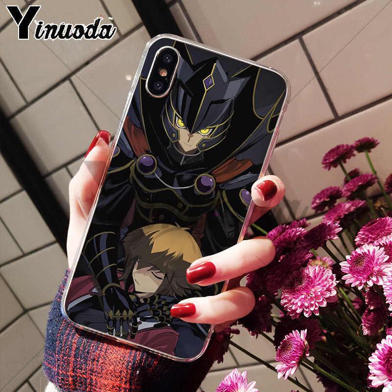 Yinuoda Yu-Gi-Oh Оригинальный чехол для телефона чехол для Apple iPhone 8 7 6 6 S Plus X XS Макс 5 5S SE XR крышка мобильного