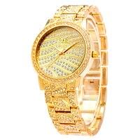 XG72 G D GLE VDO Womem S Bracelet Watches Luxury Gold Womens Quartz Watches Ladies Dress