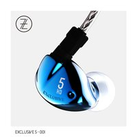 2017 The Fragrant Zither TFZ EXCLUSIVE 5 Hifi In Ear Monitor Earphone Double Magnetic Circuit Graphene
