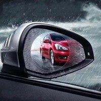 Osmrk universal HD filme resistente à água anti nevoeiro óculos de proteção anti chuva para Jeep renegado  4 pcs Espelho e capas     -