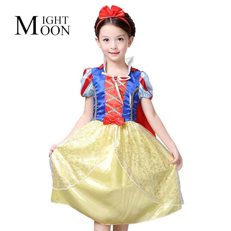 MOONIGHT Snow White Cosplay Dresses for Girls Party Princess Dress Children's Dress Baby Girl Dress