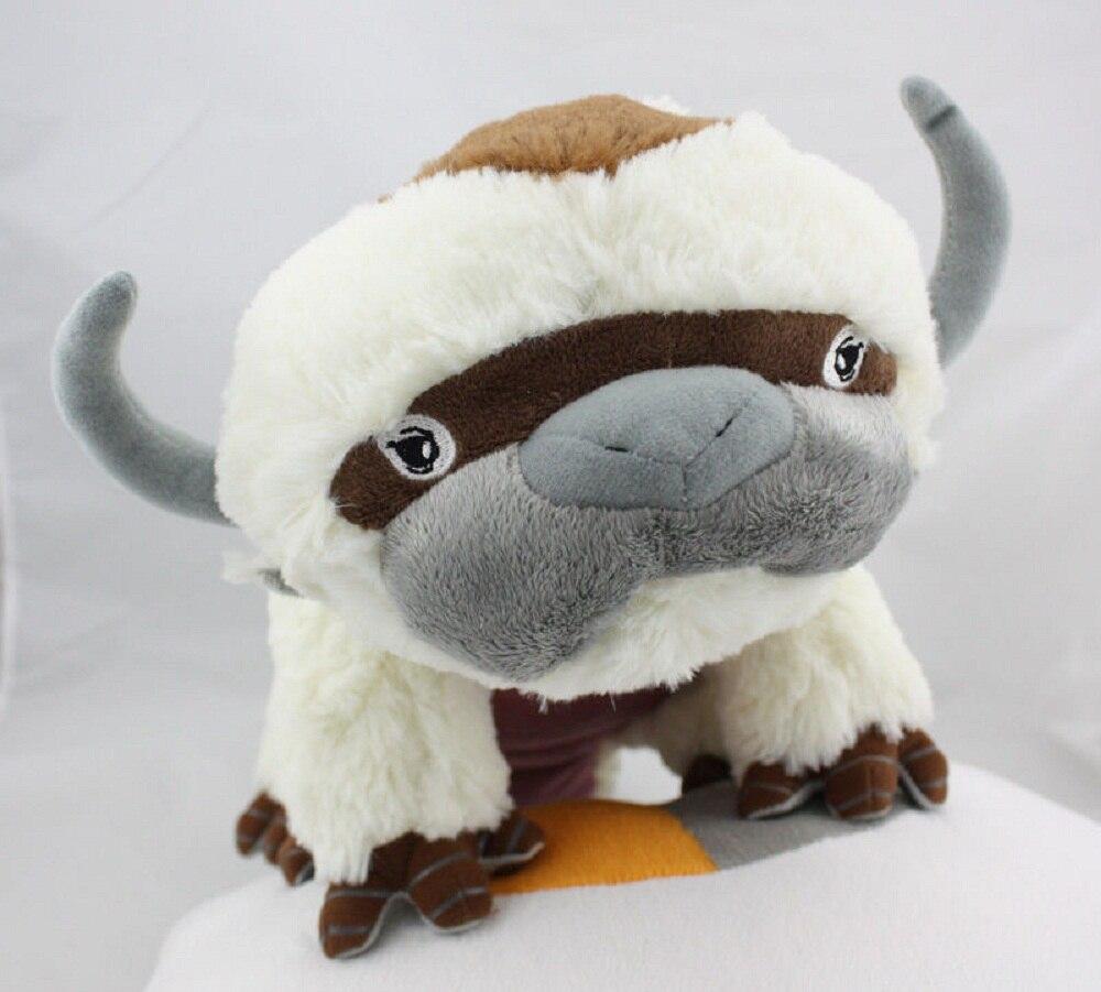 50 CM Die Last Airbender Fall Ressource Appa Avatar Kuscheltiere Plusch Puppe Kuh OX Spielzeug Geschenk Kawaii Einhorn Kissen Cattle In