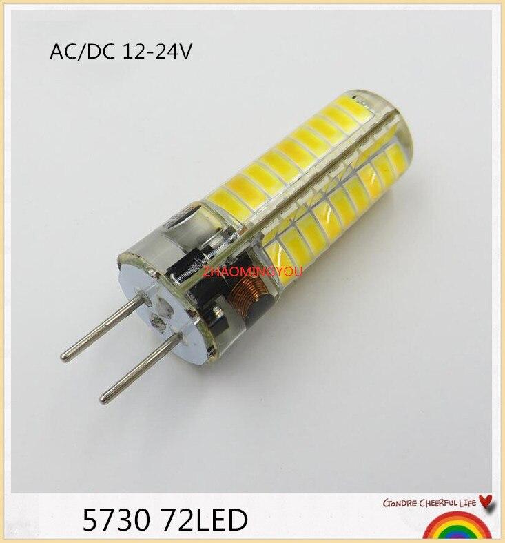 4w 6w 8w Gu10 2835 SMD 80 LED Weiß 6500k Spot Glühlampen Lampe 220v Neu Nett