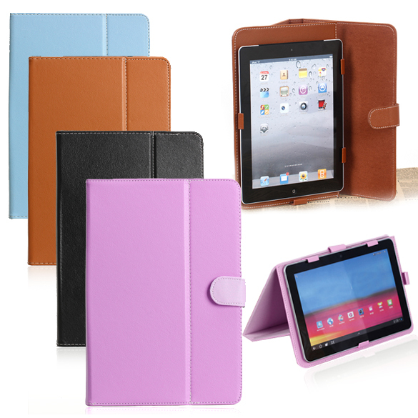 NI5L High Quality Universal Folio Synthetic Leather Stand Case Cover for 10inch Tablet PC MID