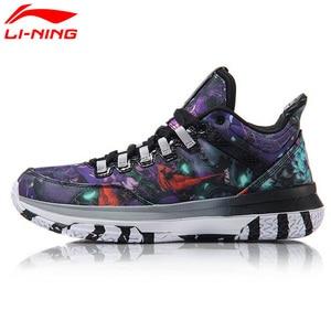 Image 3 - Li Ning Mens Wade วัน 2 Wade คอลเลกชันรองเท้าบาสเก็ตบอล Breathable CUSHIONING ซับรองเท้าผ้าใบกีฬารองเท้า ABPM013 SJAS17