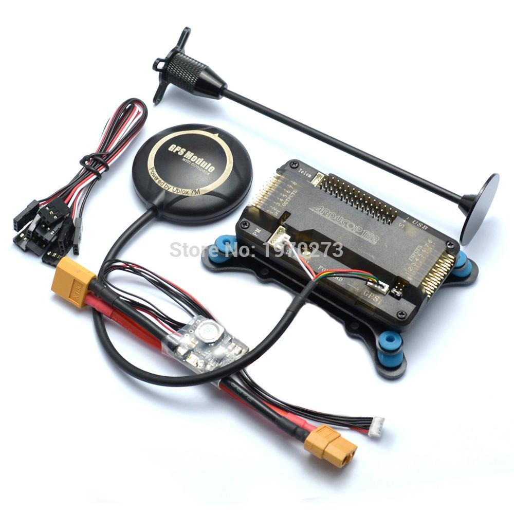 Image 2 - F450 450 Quadcopter MultiCopter Frame kit APM 2.8 w/ Shock Absorber 7M GPS Power Module 2212 Motor 30A Simonk ESC-in Parts & Accessories from Toys & Hobbies