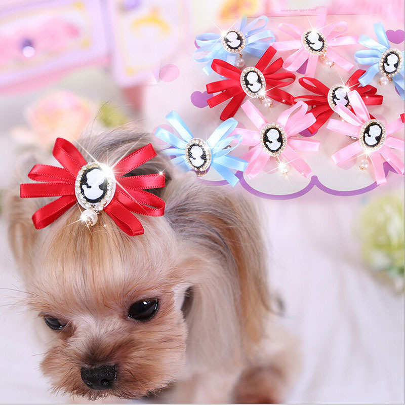 Good Ribbon Bow Adorable Dog - Brand-Designs-Rhinestone-Pet-Hair-Clips-Cute-Pink-Yellow-Blue-Ribbon-Dog-Hair-Accessories-Decorated-With  Graphic_216745  .jpg