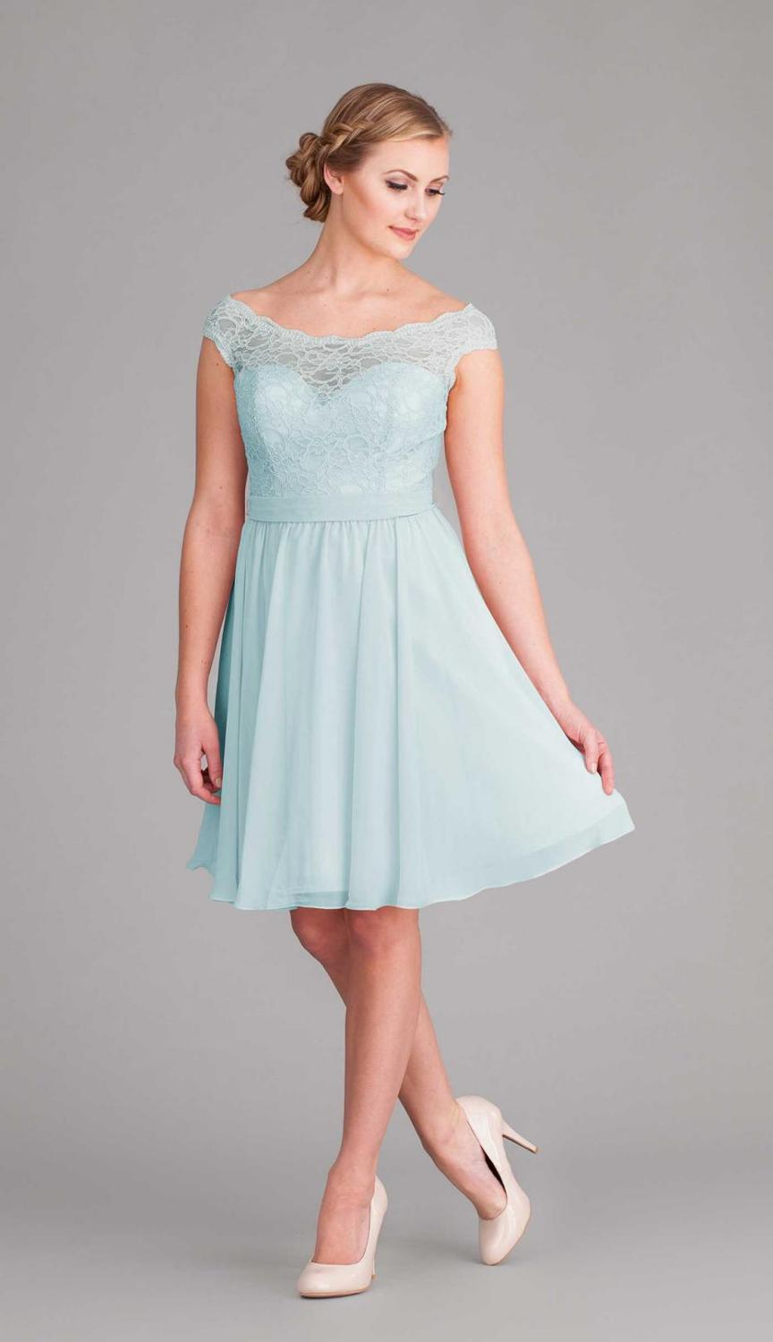 Modest Cheap Bridesmaid Dresses - Flower Girl Dresses