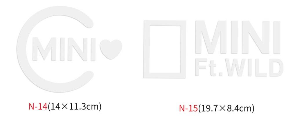 Различные автомобильные наклейки Union Jack для Mini Cooper One S JCW Countryman Clubman F55 F56 R55 R56 R60 F60 автомобильные аксессуары