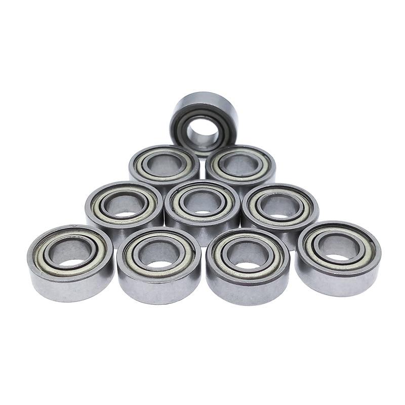 10pcs MR115 Bearing 5*11*4mm Carbon Steel Miniature Deep Groove Ball Bearing