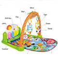 83*70*53cm Baby Educational Toys Play Mat Carpet Goma eva Baby Puzze Music Crawling Mat with music and piano Foam Flooring Kids