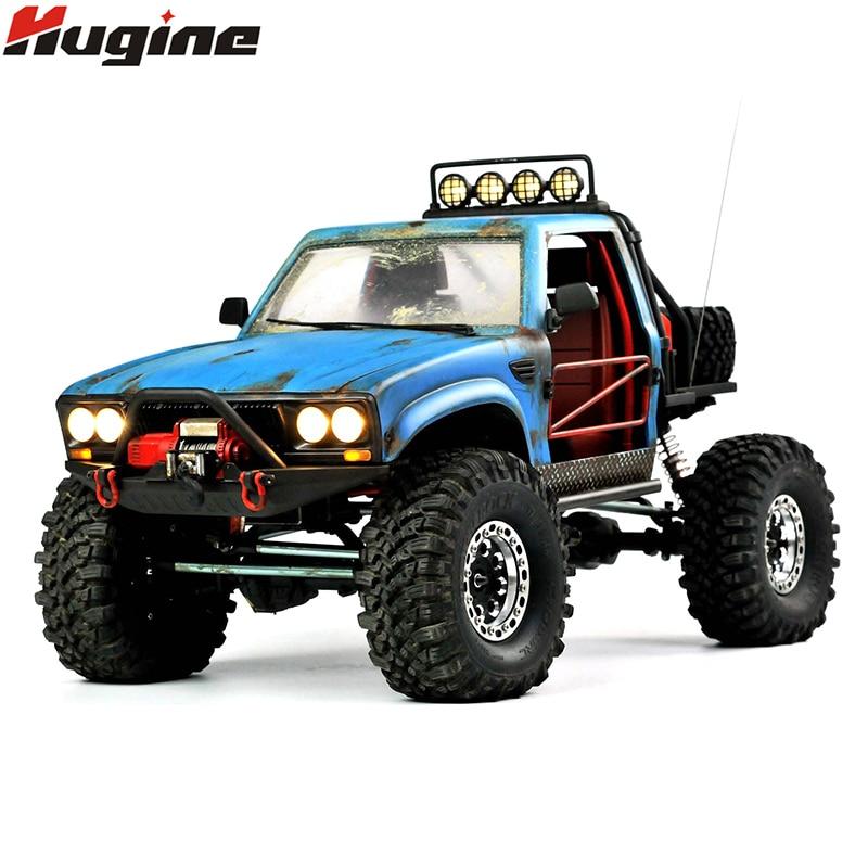RC camion 4WD SUV Drit vélo Buggy pick-up camion télécommandé véhicules tout-terrain 2.4G Rock chenille électronique jouets enfants cadeau