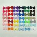"""41 unids Pequeño 2.5 """"Baby Toddler Boutique Hairbow Clips Bowtie de La Cinta Arquea con Pinzas de Cocodrilo de Color A Juego"""
