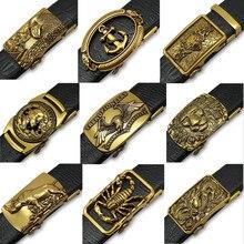Retro Golden Faucet Belt Men Buckle Jeans Belt Automatically belt buckles for men Buckle