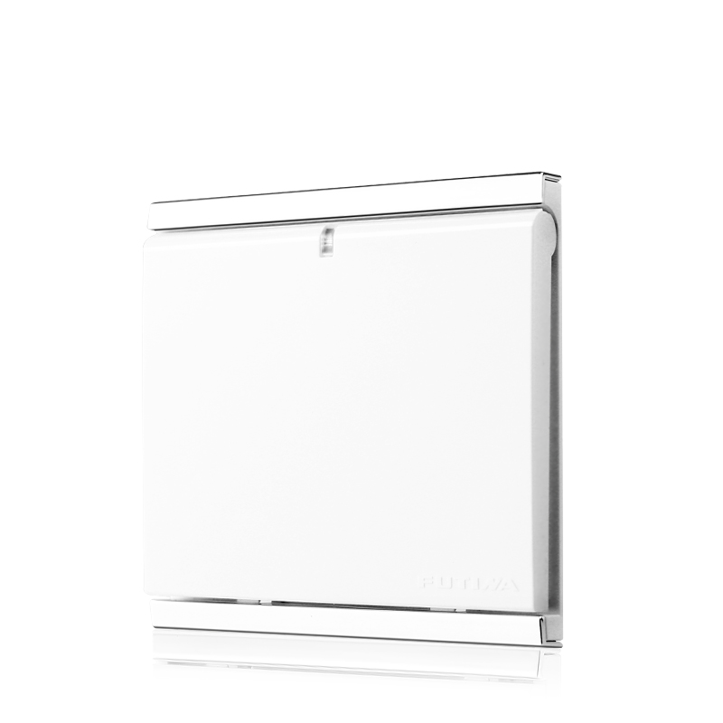 UK Standard 1 gang 1 way electric switch and White wall switch AC110V-250V 10A light switch and push button switch