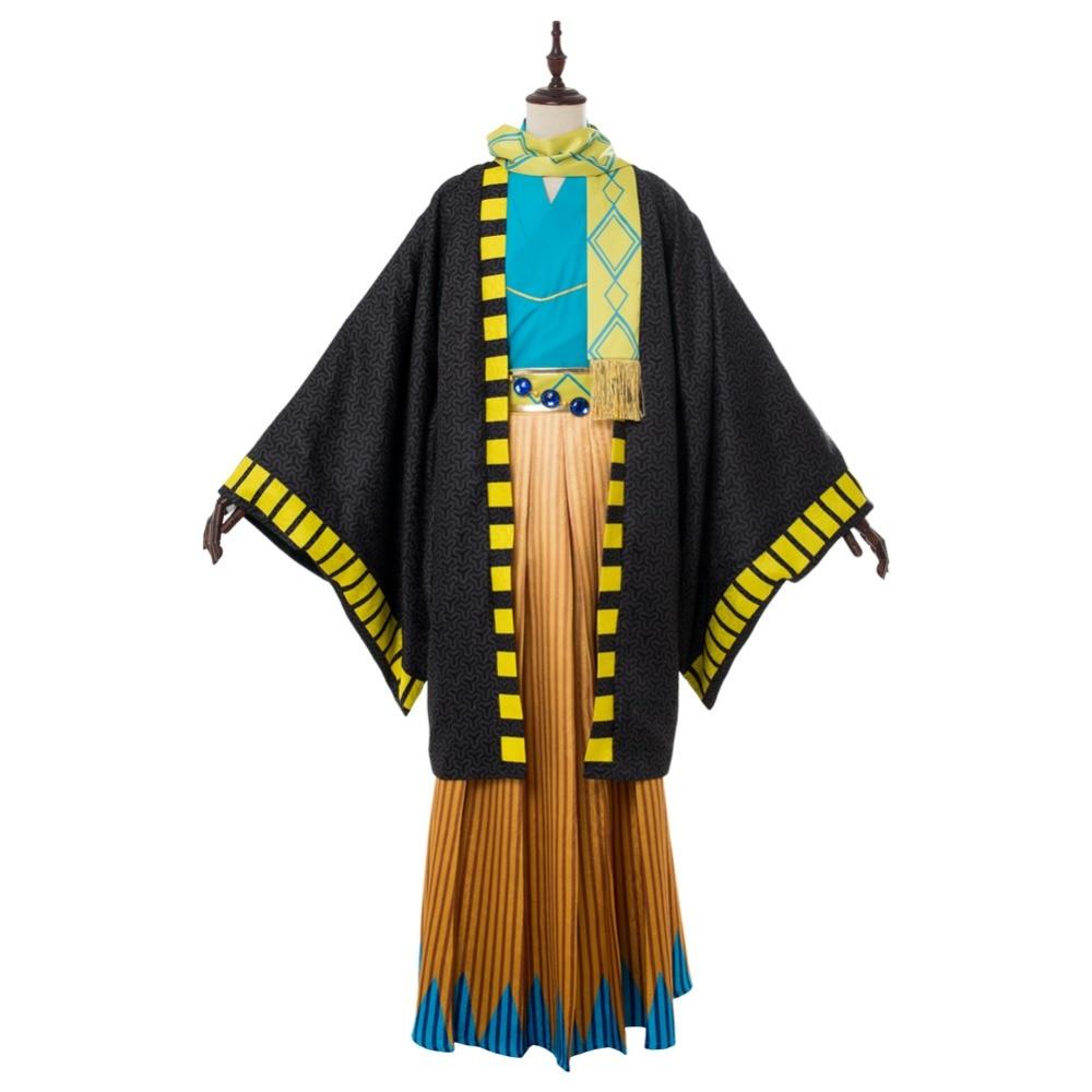 FGO Cosplay Costume Fate Grand Order Ozymandias Ramesses Kimono Cosplay Costume Adult Men Halloween Carnival Costumes