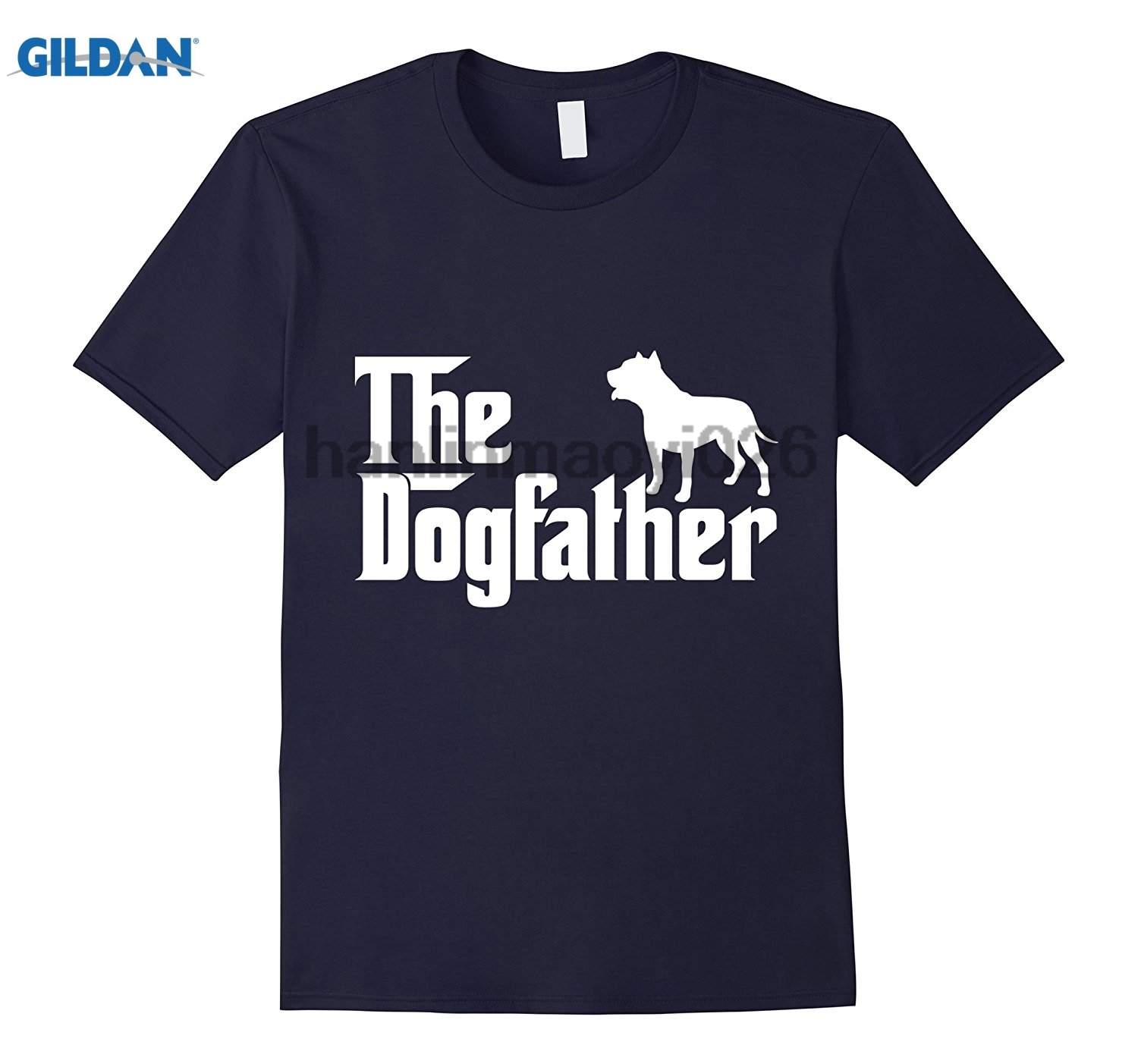GILDAN The Dogfather Funny T-Shirt For Dogs Lover Dad Fathers Day