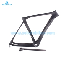 2016 new Factory sale carbon road bike frame Brand super light 700c full carbon frame t800 bicycle frame