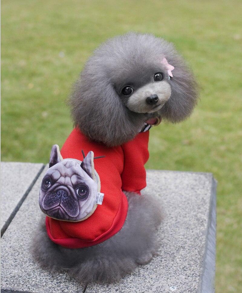 Neueste Warme Hunde Kostüm Kleidung Teddy Paket Hoodie Mantel Mit ...