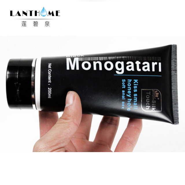 Silk Touch Monogatari Series Anal Lubricant penis essence oil personal adult anal sex gel