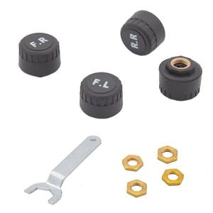 Image 3 - Система контроля давления в шинах Tpms Sensorsolar, умный беспроводной 4 колесный внешний контроль давления в шинах