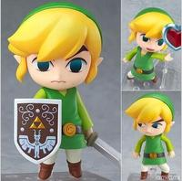 The Legend Of Zelda Link Nendoroid Game Action Figures Anime PVC Brinquedos Collection Model Toys Free
