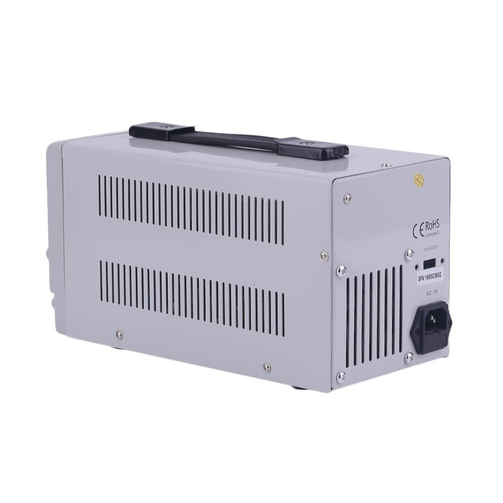 Universal Dc0 30v Power Supply Adjustable Dual Digital Variable Short Circuit Appliances Precision Overload Protecting 0 5a In Voltage Regulators Stabilizers