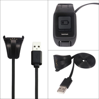 Ładowarka do TomTom Spark cardio smart watch USB Cradle wymiana akcesoria szybka stacja do ładowania w Inteligentne akcesoria od Elektronika użytkowa na