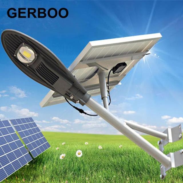 2016 New Led Solar Powered Panel Street Light Solar Sensor Lighting