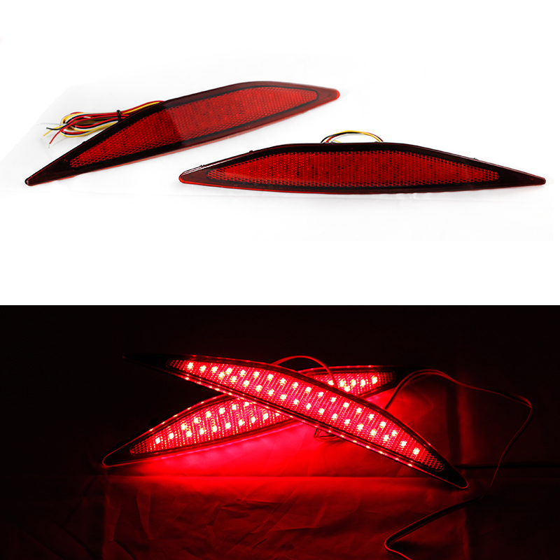 Ownsun High Quality New Multi-LED Reflector Rear Tail Light Bumper Brake Light For Volkswagen Golf 7 new for toyota altis corolla 2014 led rear bumper light brake light reflector novel design top quality fast shipping