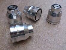 4PCS Aluminum Amplifier Feet  D53*H53  Sound Lsolation Spikes Maglev Feet HIFI Audio Stand Mat