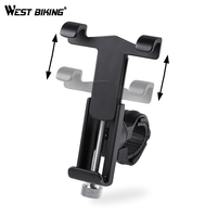 WEST BIKING Bike Phone Holder 360 Degree Rotation Phone Stand 3 5 Inch To 6 2