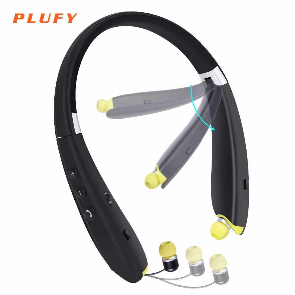 Plufy Bluetooth Earphone Sport Wireless Stereo Headphone Headset with Mic Aptx Bass Noise Cancelling for Xiaomi iPhone Android bluetooth sunglasses sun glasses wireless bluetooth headset stereo headphone with mic handsfree for iphone samsung huawei xiaomi